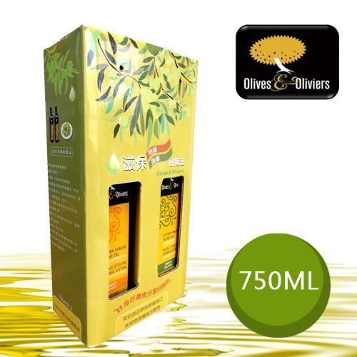 Olives&Oliviers冷壓初榨橄欖油(一組兩入)