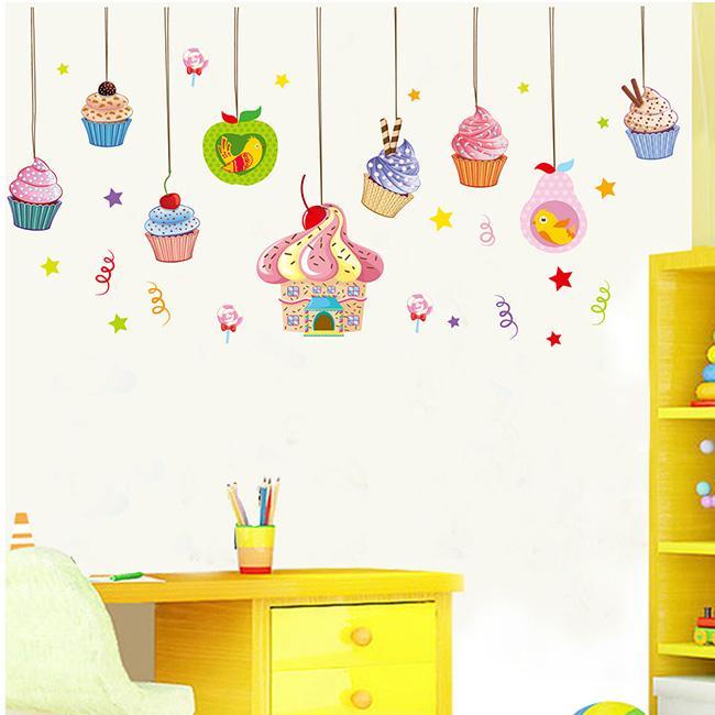 JB Design時尚壁貼~歡樂蛋糕吊飾