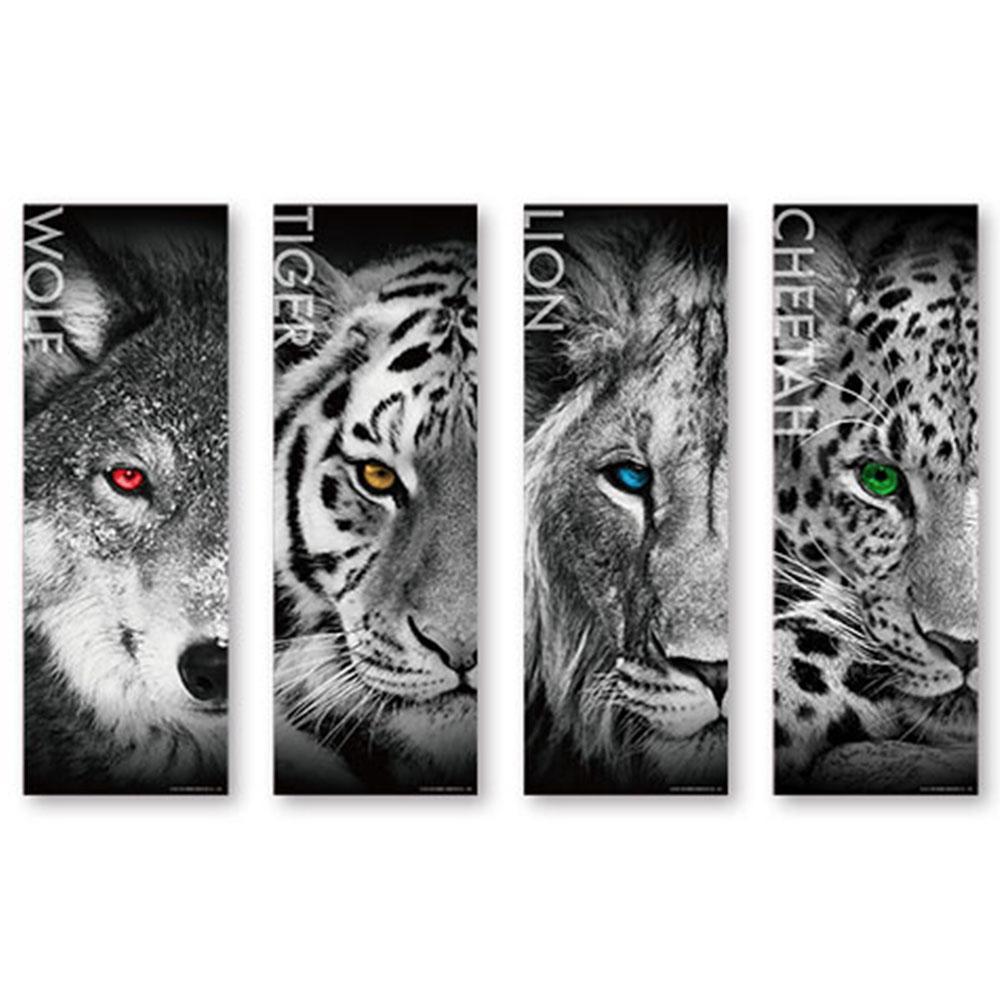 JB Design-動物榮耀篇 套裝鐵盒拼圖組合