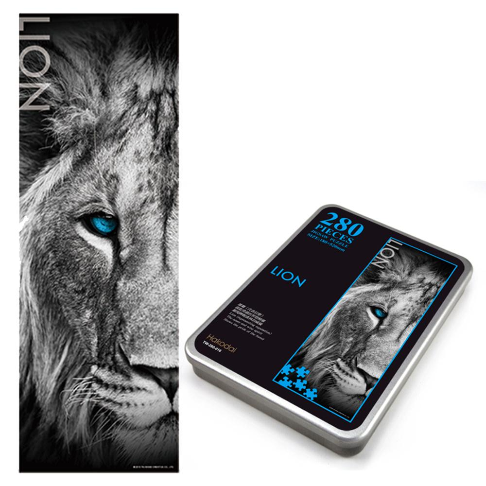 JB Design-雄獅 Lion-280片鐵盒拼圖