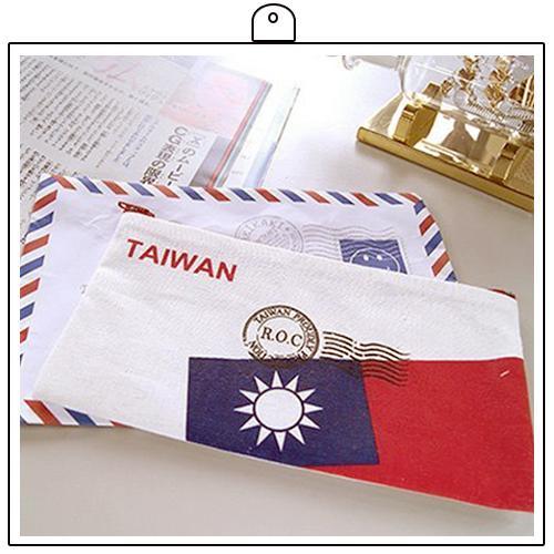 愛台灣系列~台灣~國旗收納袋