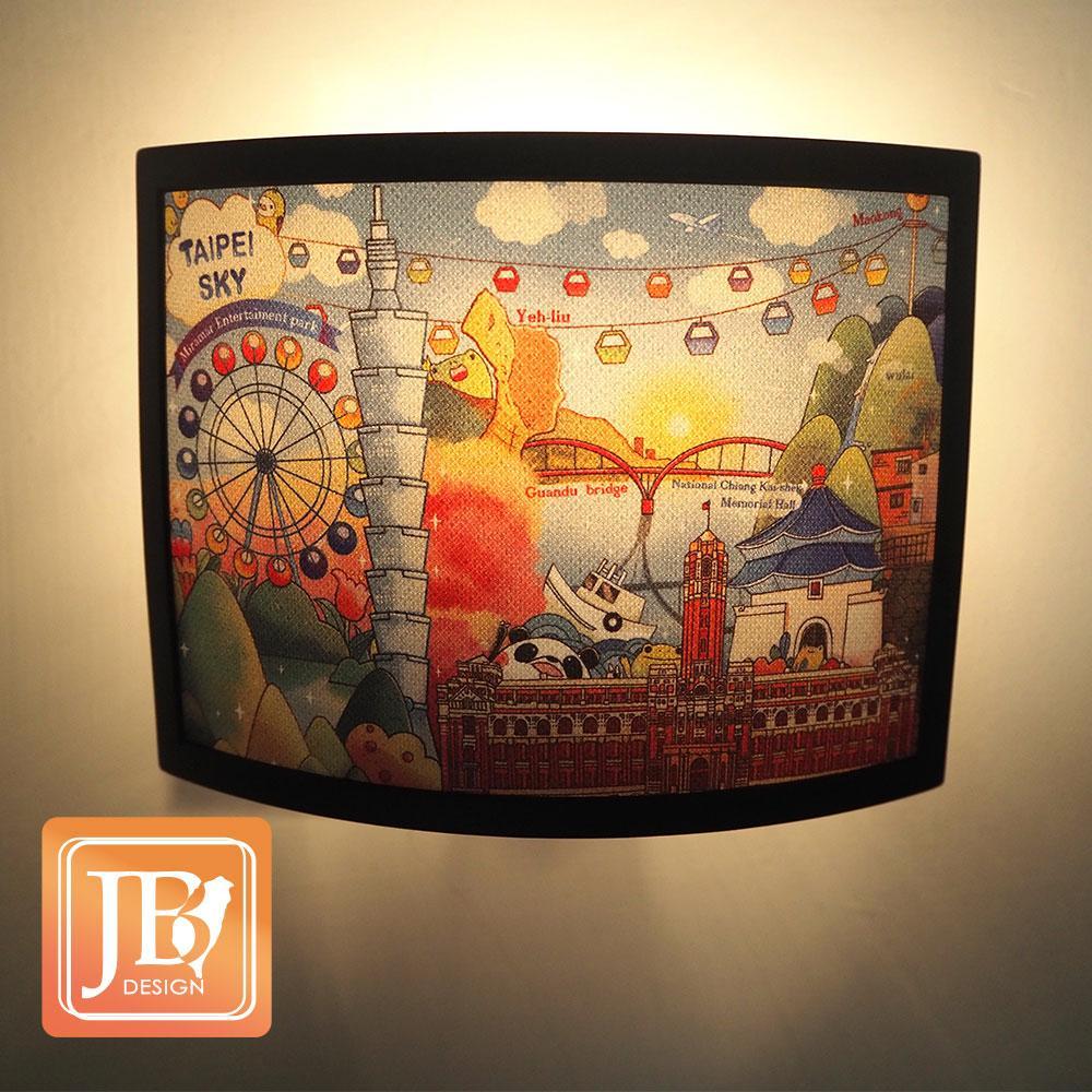 JB Design-文創小夜燈-107-台北天空