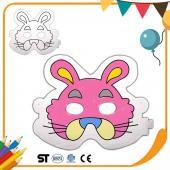 JB Design 彩繪氣球 - 兔子面具