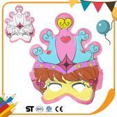 JB Design 彩繪氣球 - 公主面具