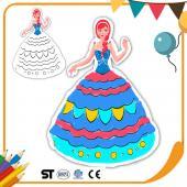 JB Design 彩繪氣球 - 公主系列 藍