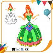 JB Design 彩繪氣球 - 公主系列 綠