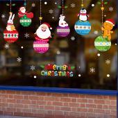 時尚壁貼-聖誕家族吊飾 XH-6283