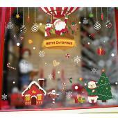 時尚壁貼-聖誕熱氣球吊飾 HM92035ds