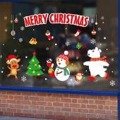 時尚壁貼-聖誕大集合XH6251