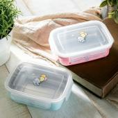 抗菌嬰幼兒方形餐盒