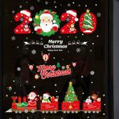 時尚壁貼-2020聖誕來臨