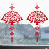 時尚壁貼-福扇吊飾SK6803ds
