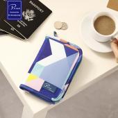 P.travel 幾何系列護照收納包
