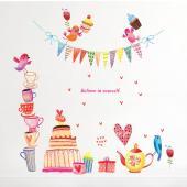 JB Design時尚壁貼~ 蛋糕派對