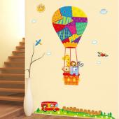 JB Design時尚壁貼~熱氣球