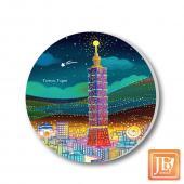 JB Design_陶瓷吸水杯墊-160_台北夜晚