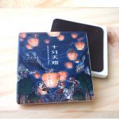 JB Design_杯墊方磁鐵-557_飛翔天燈