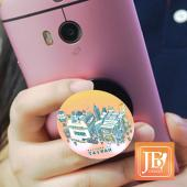 JB Design-手機架-696_粉台灣文字