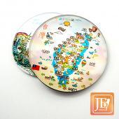 JB Design-玻璃磁鐵-74_風情台灣