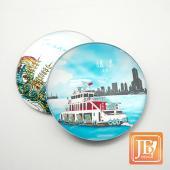 JB Design-玻璃磁鐵-362_蔚藍旗津