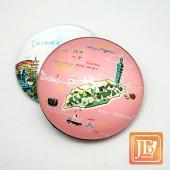 JB Design-玻璃磁鐵-544_哇!台灣粉