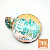 JB Design-玻璃磁鐵-696_粉台灣文字