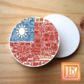 JB Design_圓波麗磁鐵-729_國旗插畫