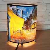 JB Design-文創小扁圓桌燈-星空下的咖啡屋