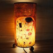 JB Design-文創木珠圓筒桌燈-吻