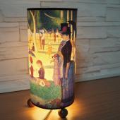 JB Design-文創木珠圓筒桌燈-傑克島的星期天下午