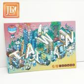 JB Design拼圖明信片_新TAIWAN文字