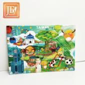 JB Design拼圖明信片_ 美麗新台灣