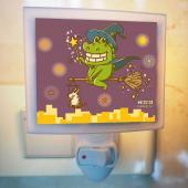 傻笑鱷魚-迷你小夜燈-魔法城市