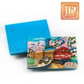 JB Design方波麗磁鐵-JB102-阿里山櫻花