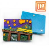 JB Design方波麗磁鐵-JB064-紫夜平溪