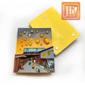 JB Design方波麗磁鐵-JB083-天燈夢想
