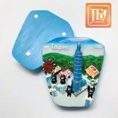 JB Design天燈麗磁鐵-JB073-熊黑皮天燈
