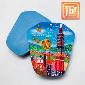 JB Design天燈麗磁鐵-JB089-彩色台北