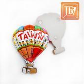 JB Design天燈麗磁鐵-JB098-熱氣球磁鐵