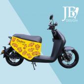 JB Design gogoro 防刮車套-Q版水豚