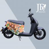 JB Design gogoro 防刮車套-台灣黑讚