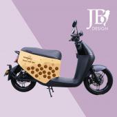 JB Design gogoro 防刮車套-台灣珍奶