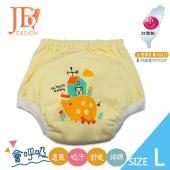 JB Design 學步褲-小豬黃-L