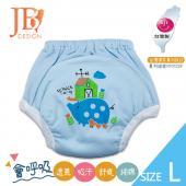 JB Design 學步褲-小豬藍-L