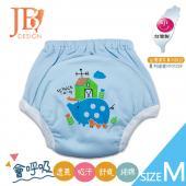 JB Design 學步褲-小豬藍-M