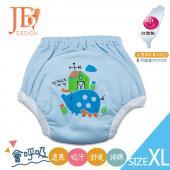 JB Design 學步褲-小豬藍-XL