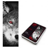 JB Design-戰狼 Wolf-280片鐵盒拼圖