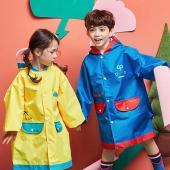 韓國品牌-lemonkid 牛津布造型雨衣-藍色機器人