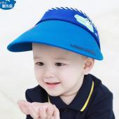 韓國lemonkid 半空帽-鱷魚藍