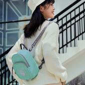 Msquare 雙肩小背包-淺藍